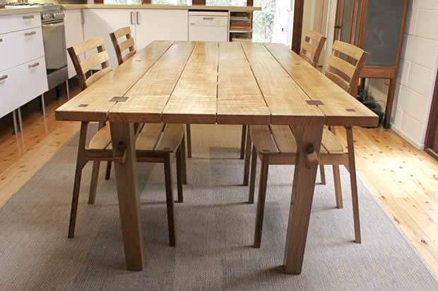 woodworking plans a dining table