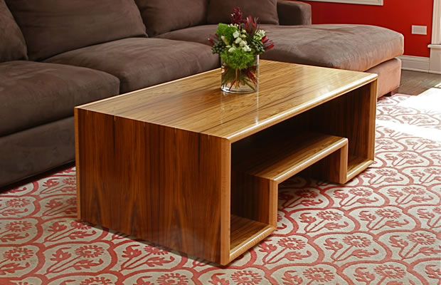 Woodwork coffee table designs woodworking pdf plans for Working table design ideas